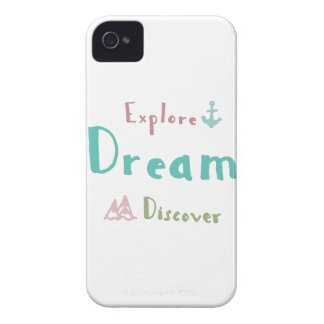 Explore Dream Discover Case-Mate iPhone 4 Cases