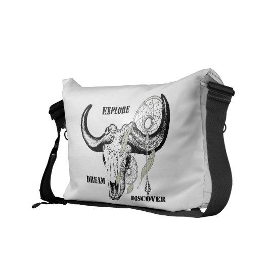 Explore Dream Discover Courier Bag