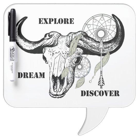 Explore Dream Discover Dry Erase Board