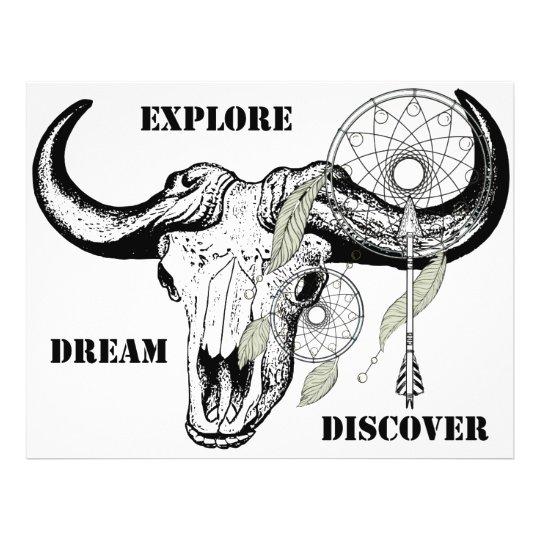 Explore Dream Discover Flyer
