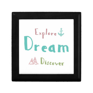 Explore Dream Discover Gift Box