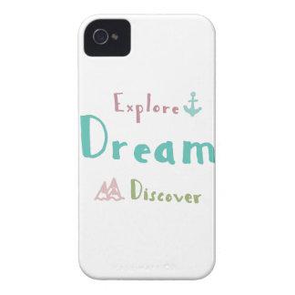 Explore Dream Discover iPhone 4 Case