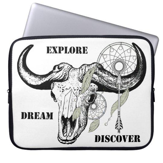Explore Dream Discover Laptop Sleeve