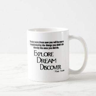 Explore, Dream & Discover Mug