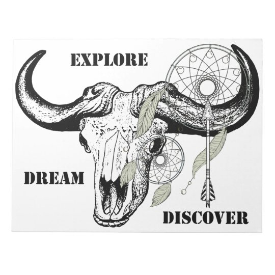 Explore Dream Discover Notepad