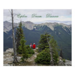 Explore Dream Discover Scenic Mountain-View Poster