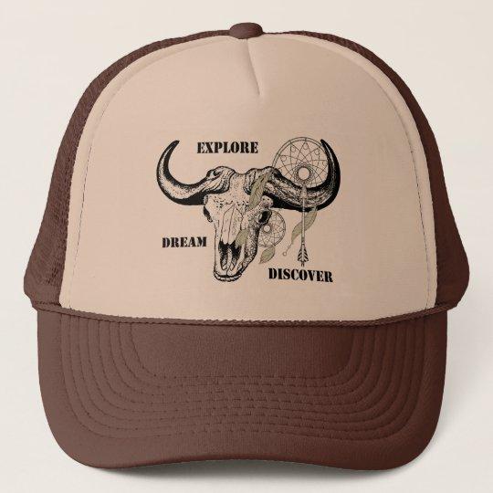 Explore Dream Discover Trucker Hat