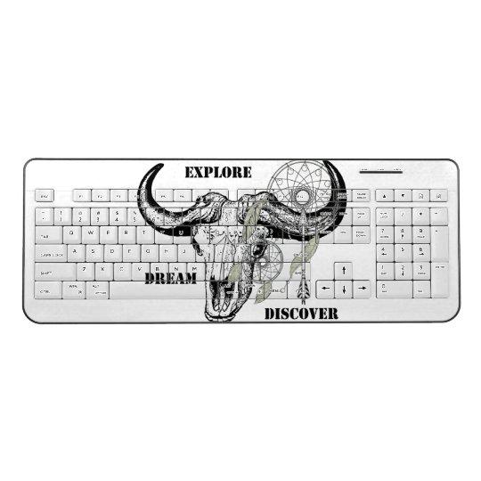 Explore Dream Discover Wireless Keyboard