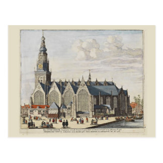 Explore Holland, Amsterdam, the Old Church Postcard
