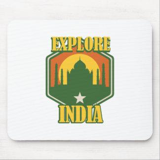 Explore India Mouse Pad