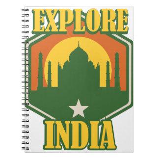 Explore India Notebook
