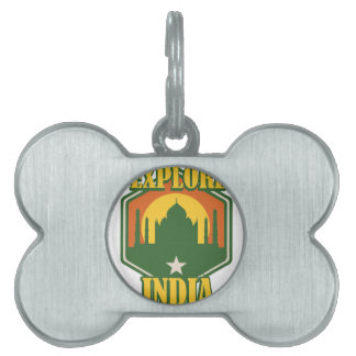 Explore India Pet ID Tag