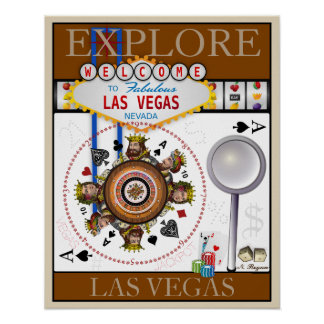 Explore Las Vegas Poster