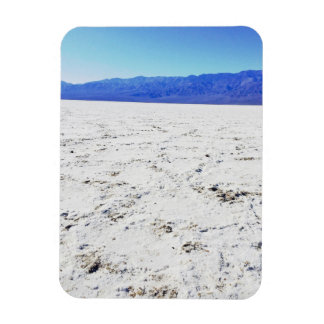 Explore salts @ Badwater Basin || Death Valley || Rectangular Photo Magnet