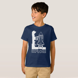 Explore space graphic T-Shirt