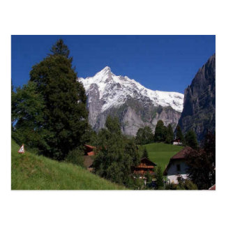 Explore Switzerland Bernese Oberland Postcard