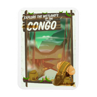Explore the Wetlands of the Congo Magnet