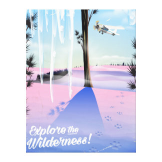 Explore the wilderness! Winter animal prints