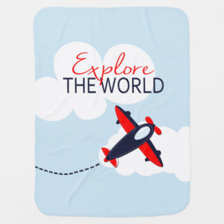 Explore the World Baby Blanket