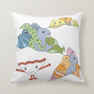 Explore! Throw Pillow