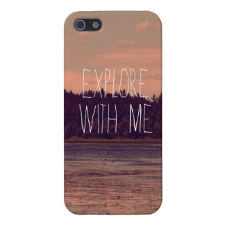 Explore with Me iPhone Case Case For iPhone 5/5S