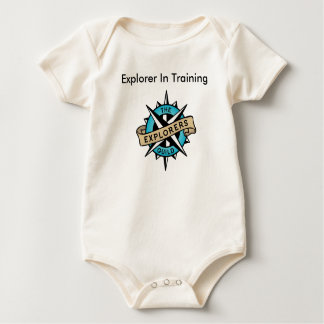 Explorer Level 1 Baby Bodysuit