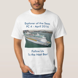 Explorer of the Seas PC4 T-Shirt