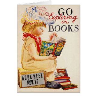 Exploring Books 1961 Card