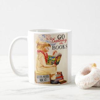 Exploring Books 1961 Coffee Mug