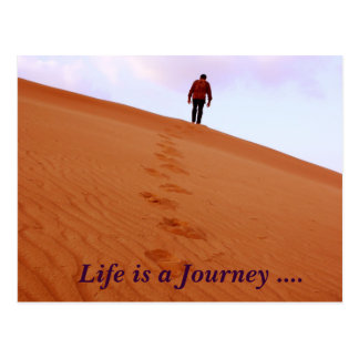 Exploring Life is a Journey Postcards