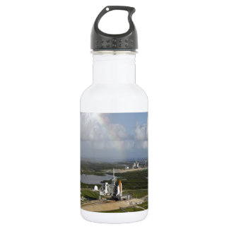 Exploring love and joy space shuttle Atlantis 532 Ml Water Bottle