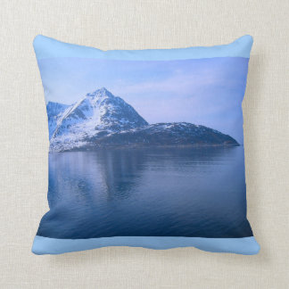 Exploring Norway, Voyage through fjords Throw Pillow