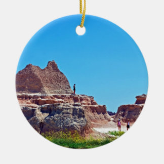 """Exploring the Badlands"" collection Ceramic Ornament"