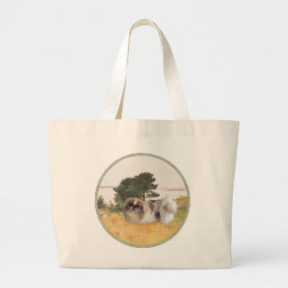 Exploring the Shore Jumbo Tote Bag