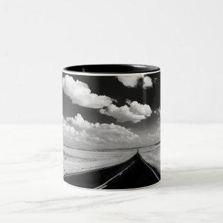 exploring Two-Tone coffee mug