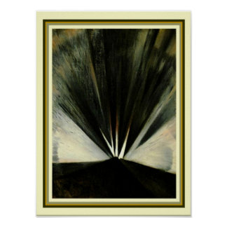 """Explosion"" 1916 by Christopher Nevinson 12 x 16 Poster"