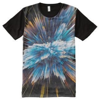 Explosion All-Over Print T-Shirt