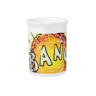 Explosion Bang Cartoon Drink Pitcher