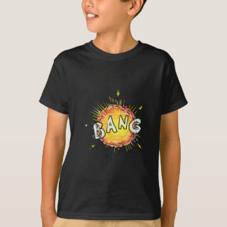 Explosion Bang Cartoon T-Shirt