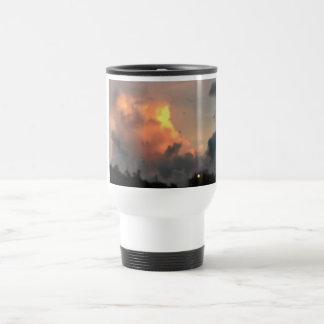 Explosion cloud travel mug