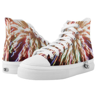 EXPLOSION OF COLOR shoes Printed Shoes