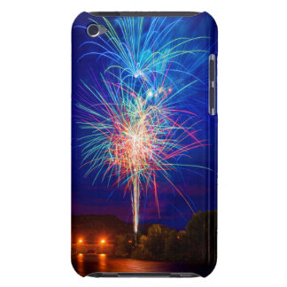 Explosion of colors in fireworks iPod touch cases