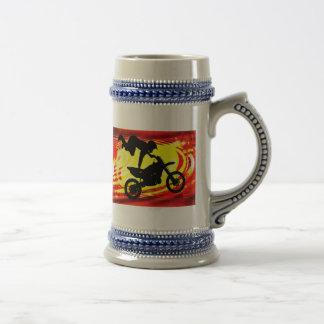 Explosive Motocross Jump Coffee Mugs