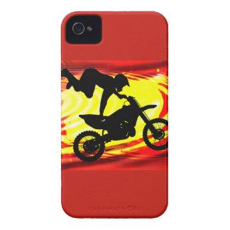 Explosive Motocross Jump iPhone 4 Cases