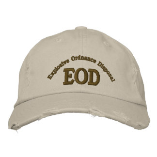 Explosive Ordnance Disposal, EOD Embroidered Baseball Caps