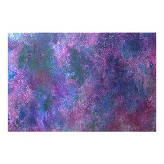Explosive Pink Purple Green Blue Splatter Pastel Photo