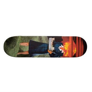Explosive service custom skateboard