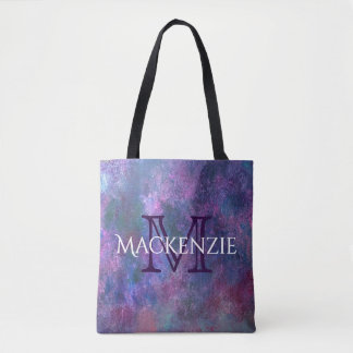 Explosive Style | Custom Purple Pink Green Blue | Tote Bag