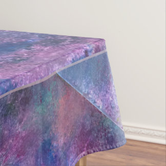 Explosive Table | Blue Pink Purple Green Pastel | Tablecloth