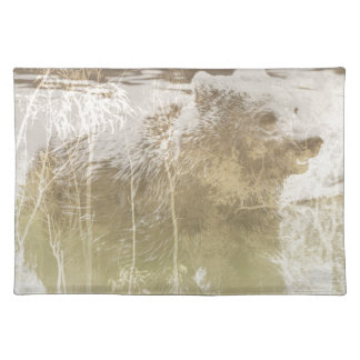 Exposed Bear Placemat